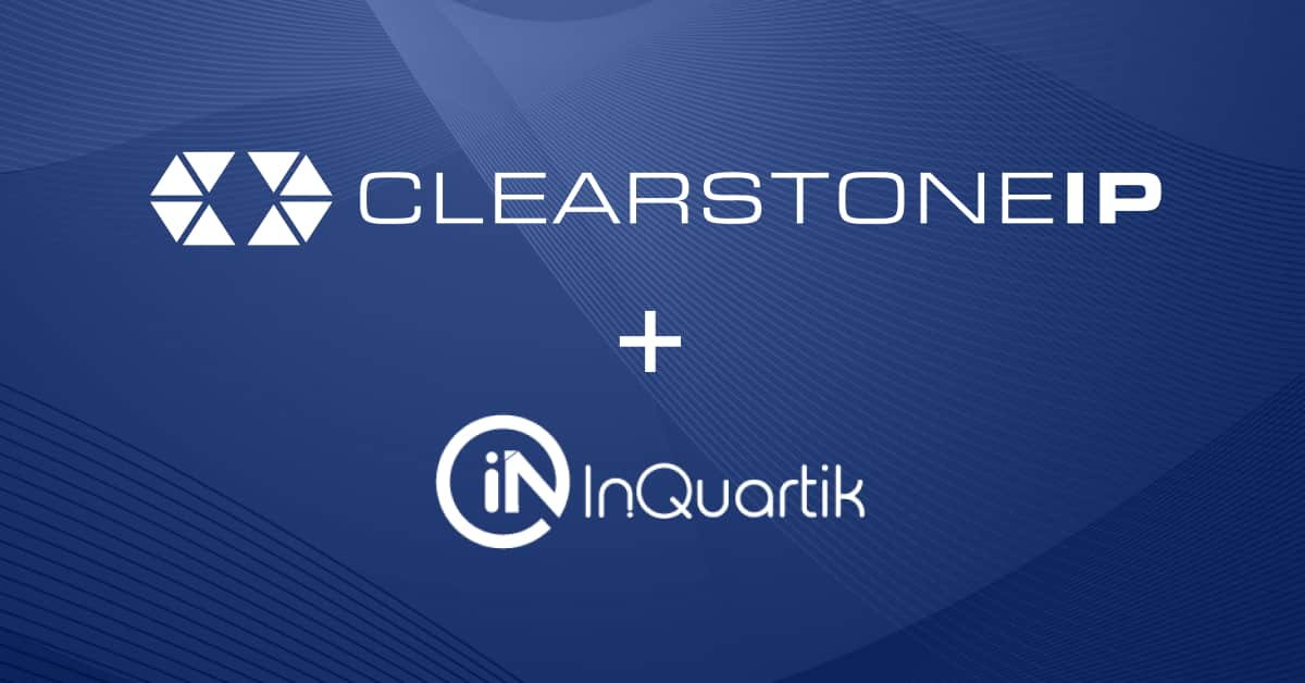 ClearstoneIP and InQuartik Unveil Deeper Integration To Streamline the FTO Process