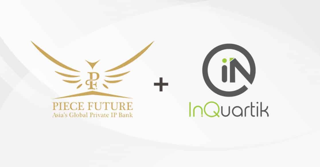 Singapore-Based Intellectual Property Bank Piece Future Forms Alliance With InQuartik To Provide Patent Due Diligence Solutions